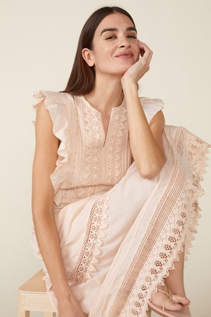 LUX DRESS, ROSEWATER by St. Roche - 5