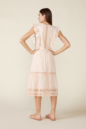 LUX DRESS, ROSEWATER by St. Roche - 3