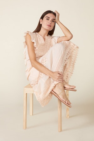 LUX DRESS, ROSEWATER by St. Roche - 4