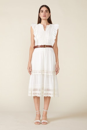 LUX DRESS, IVORY by St. Roche - 2