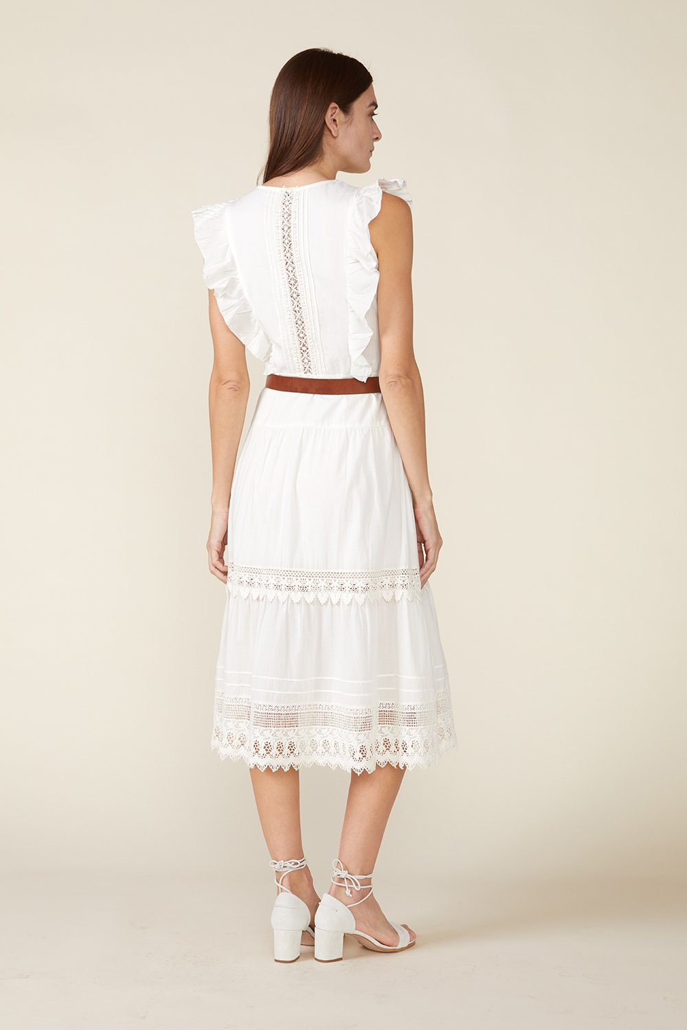 LUX DRESS, IVORY by St. Roche - 3