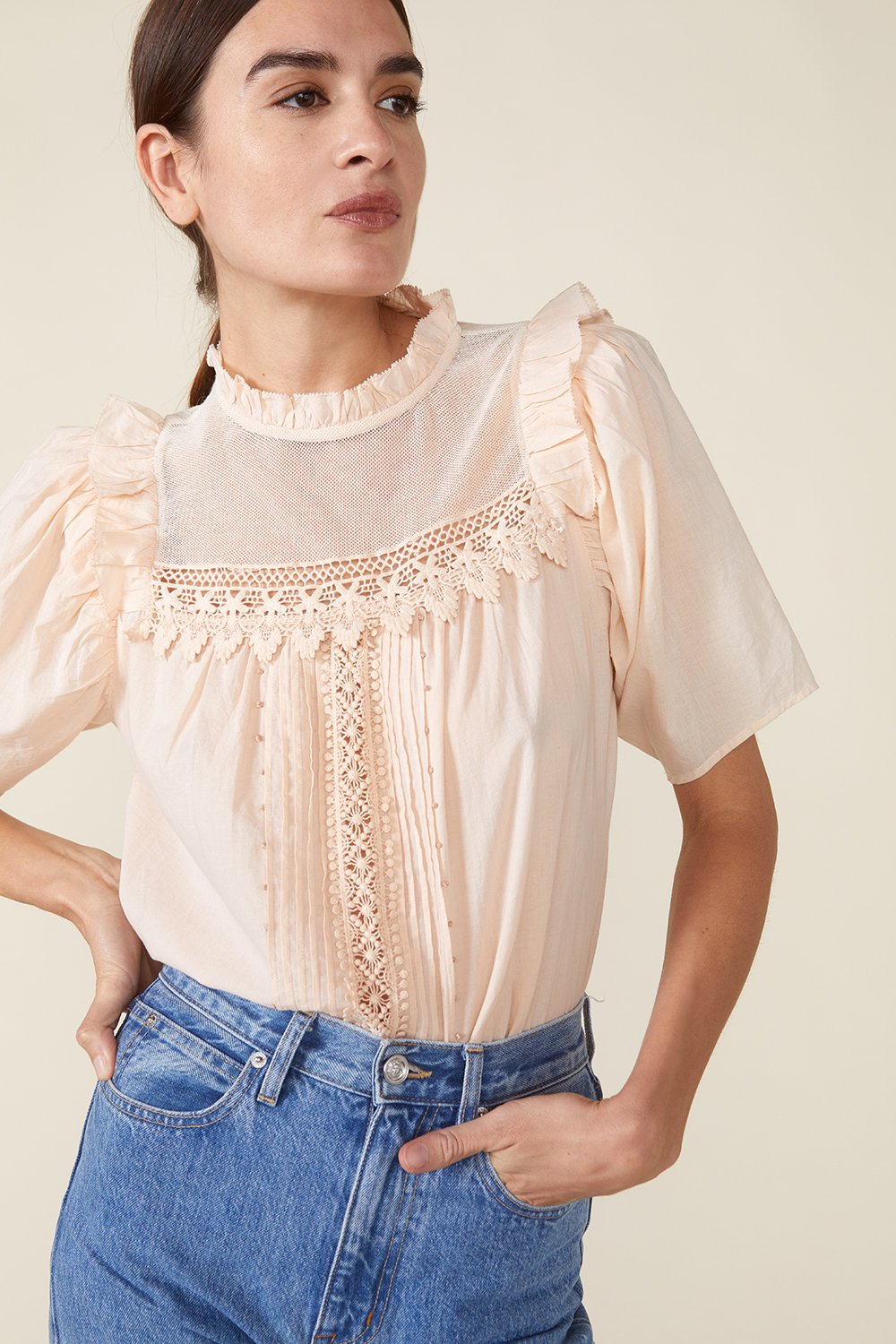MAISIE TOP, ROSEWATER by St. Roche - 6