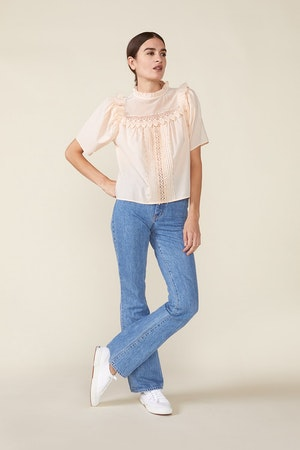 MAISIE TOP, ROSEWATER by St. Roche - 2