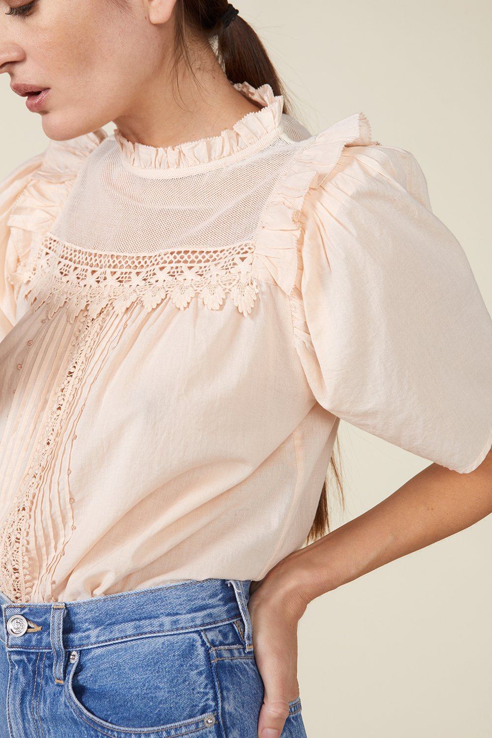 MAISIE TOP, ROSEWATER by St. Roche - 5