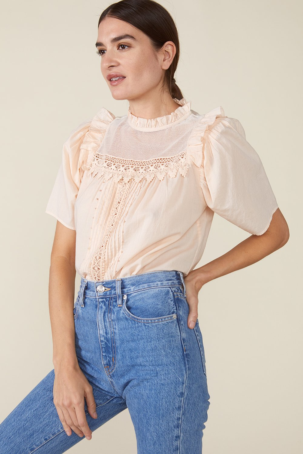 MAISIE TOP, ROSEWATER by St. Roche - 4