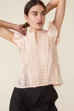 ADA TOP, ROSEWATER by St. Roche - 2