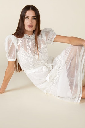 TOMI DRESS - IVORY by St. Roche - 4