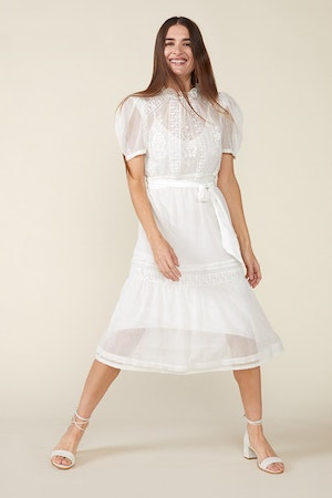 TOMI DRESS - IVORY by St. Roche - 5