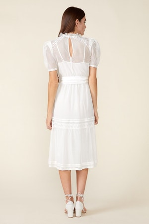 TOMI DRESS - IVORY by St. Roche - 2