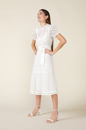 TOMI DRESS - IVORY by St. Roche - 3