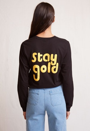stay gold tee by Warm - 2