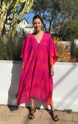 Fuschia and orange caftan-last one! by Two - 2
