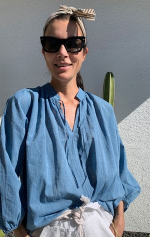 Chambray blouse-Now in stock! by Two - 4