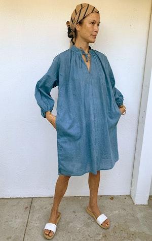Chambray tunic dress by Two - 3