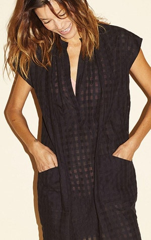 Signature Black Grid Tunic-sold out by Two - 3