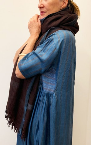 Thick Luxurious wool scarf by Two - 5
