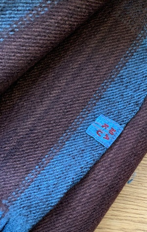 Thick Luxurious wool scarf by Two - 2