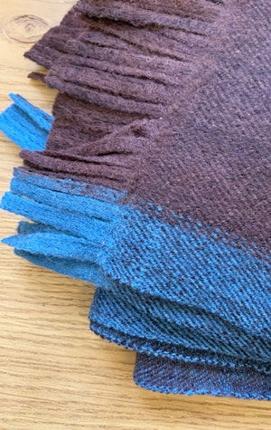 Thick Luxurious wool scarf by Two - 4