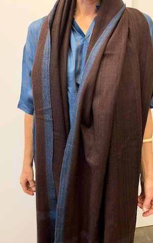 Thick Luxurious wool scarf by Two - 3