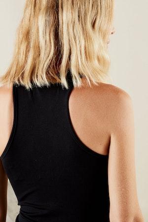 STRETCH Keao Bodysuit in Black by Simon Miller - 5