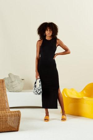 STRETCH Lou Dress in Black by Simon Miller - 2