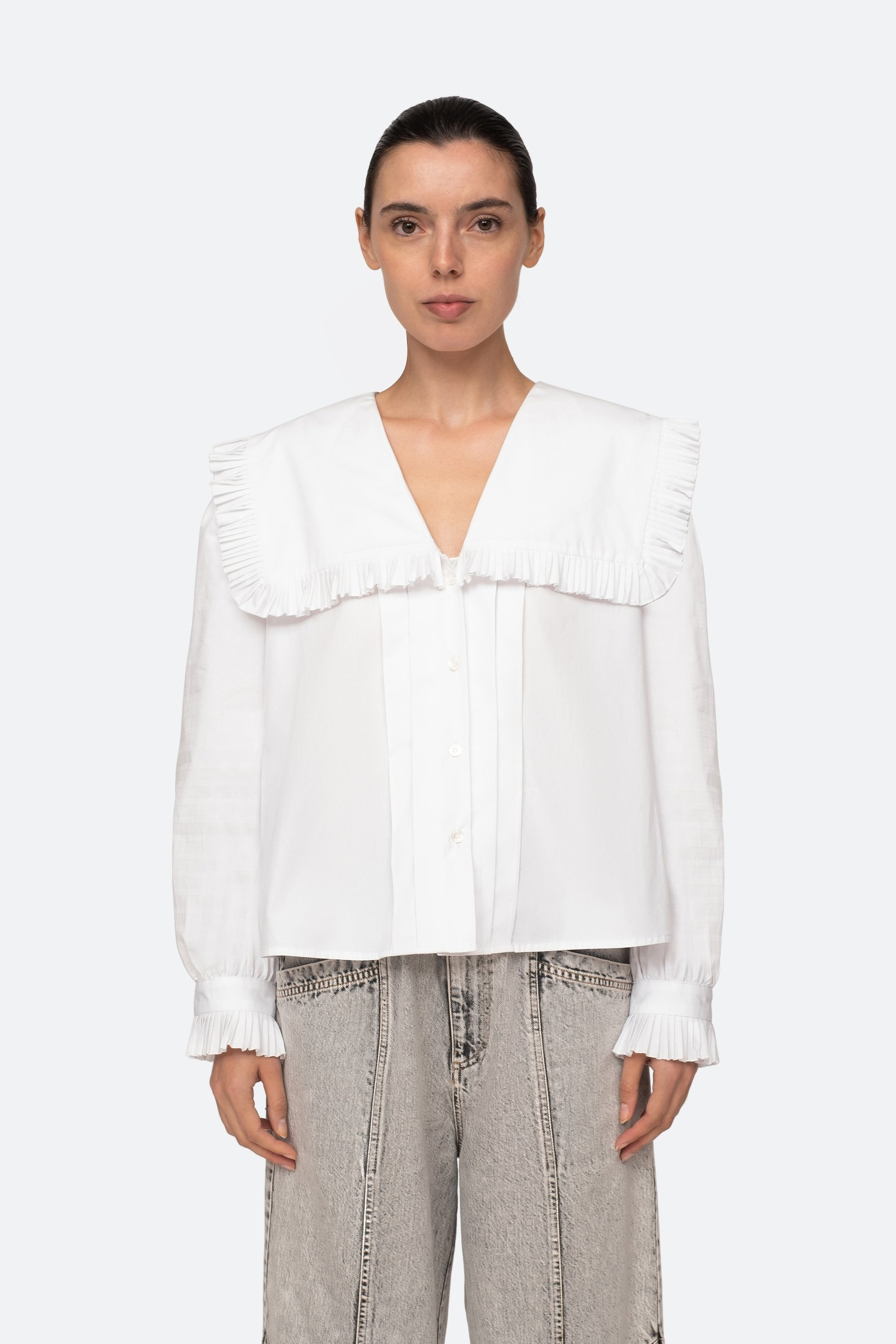 Charlie Blouse by Sea - 2