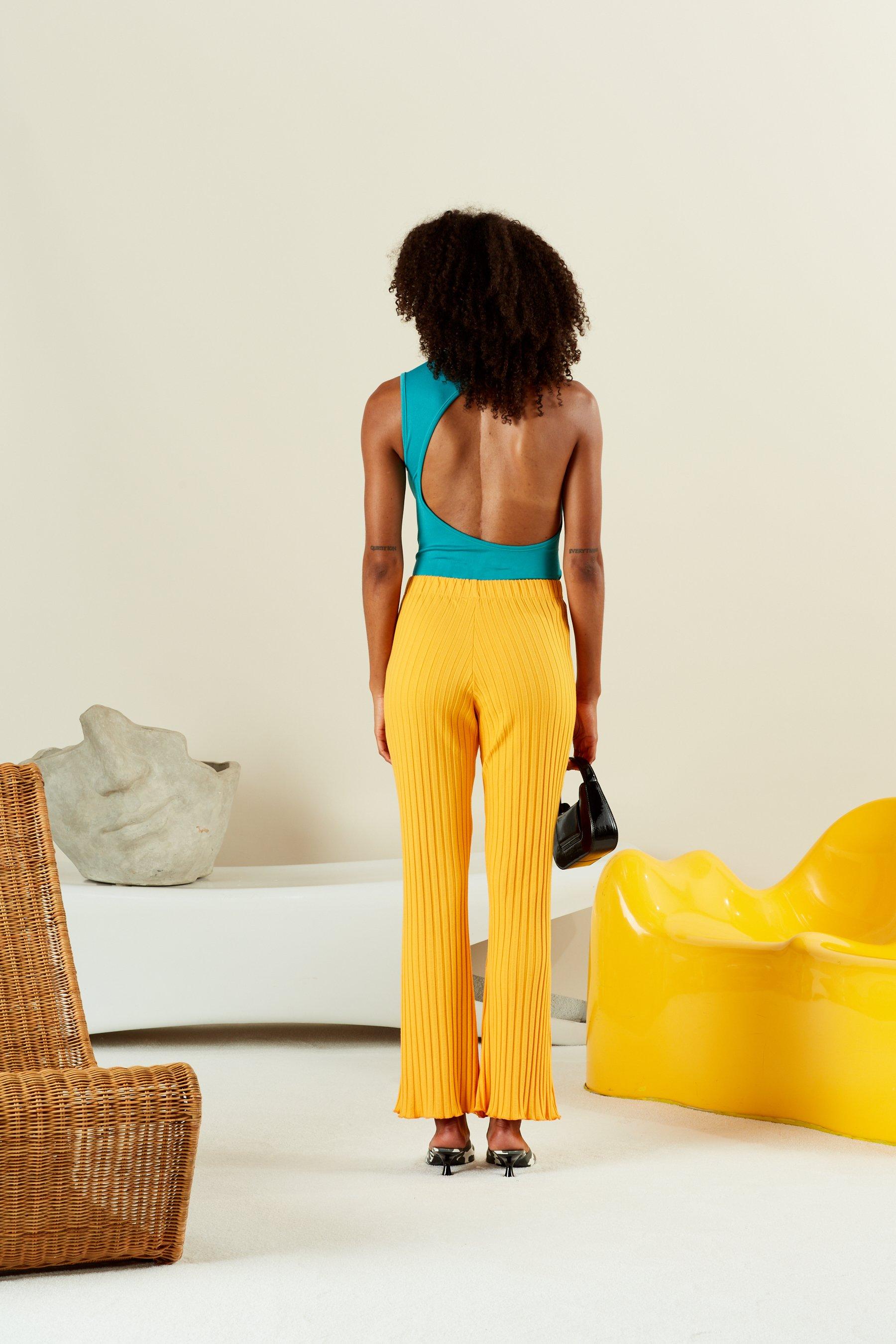 STRETCH Mogen Bodysuit in Pool by Simon Miller - 2