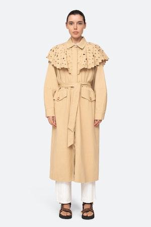 Hazel Coat by Sea - 1