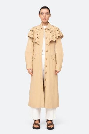 Hazel Coat by Sea - 4