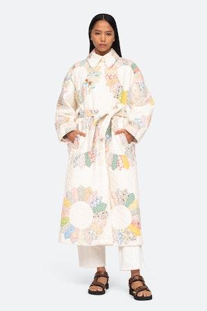 Linden Coat by Sea - 1