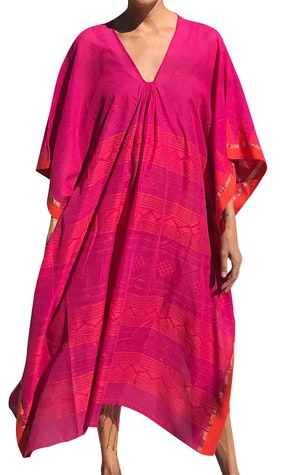 Fuschia and orange caftan-last one! by Two - 1