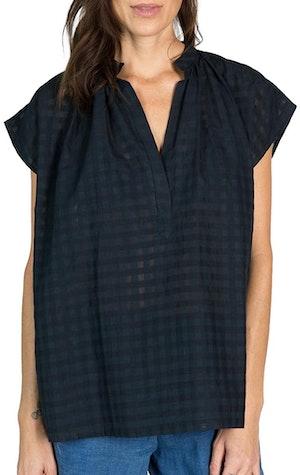 Khadi Grid Shirt by Two - 1