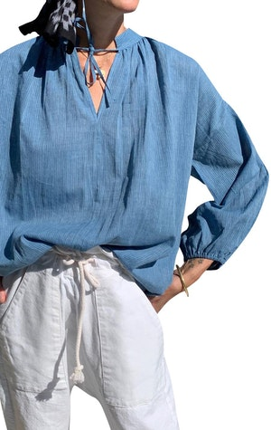 Chambray blouse-Now in stock! by Two - 1