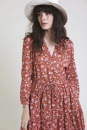 Ainsley Dress ROSE FLORAL by Trovata - 3