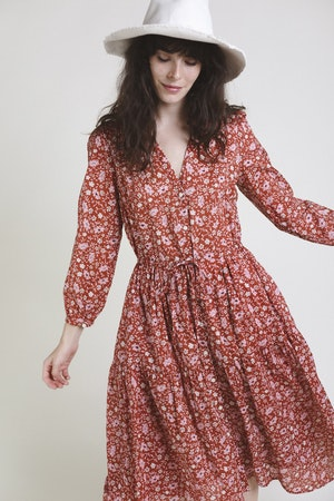 Ainsley Dress ROSE FLORAL by Trovata - 2