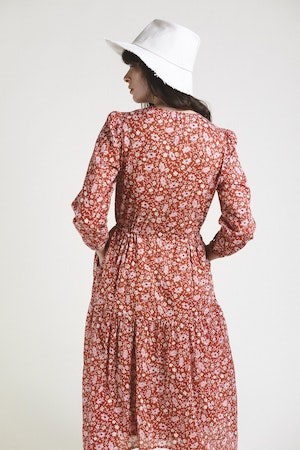 Ainsley Dress ROSE FLORAL by Trovata - 4