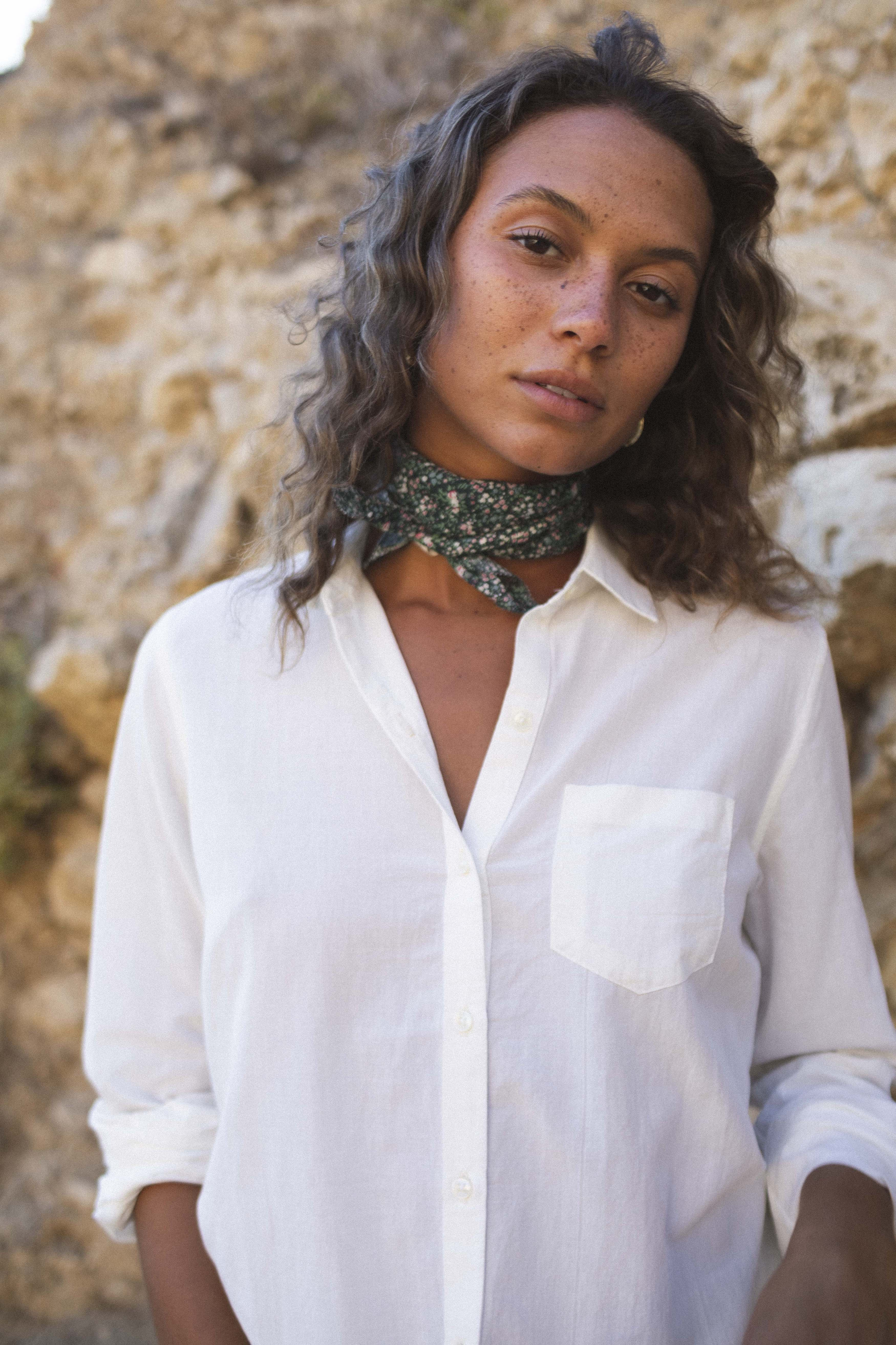 Charlotte Scarf MOSS DITSY by Trovata - 1