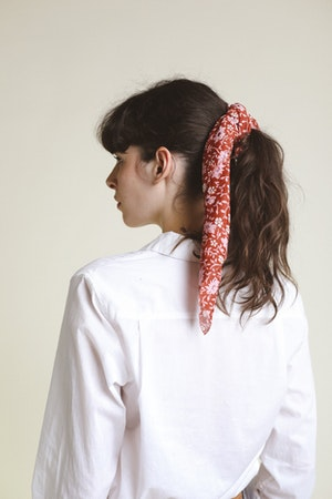 Charlotte Scarf ROSE FLORAL by Trovata - 2