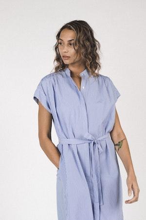 Classic Astrid Easy Dress BLUE/WHITE STRIPE by Trovata - 5