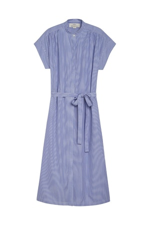 Classic Astrid Easy Dress BLUE/WHITE STRIPE by Trovata - 1