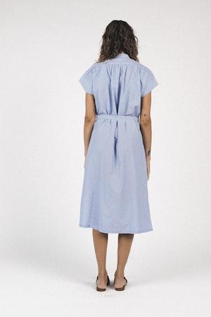 Classic Astrid Easy Dress BLUE/WHITE STRIPE by Trovata - 3