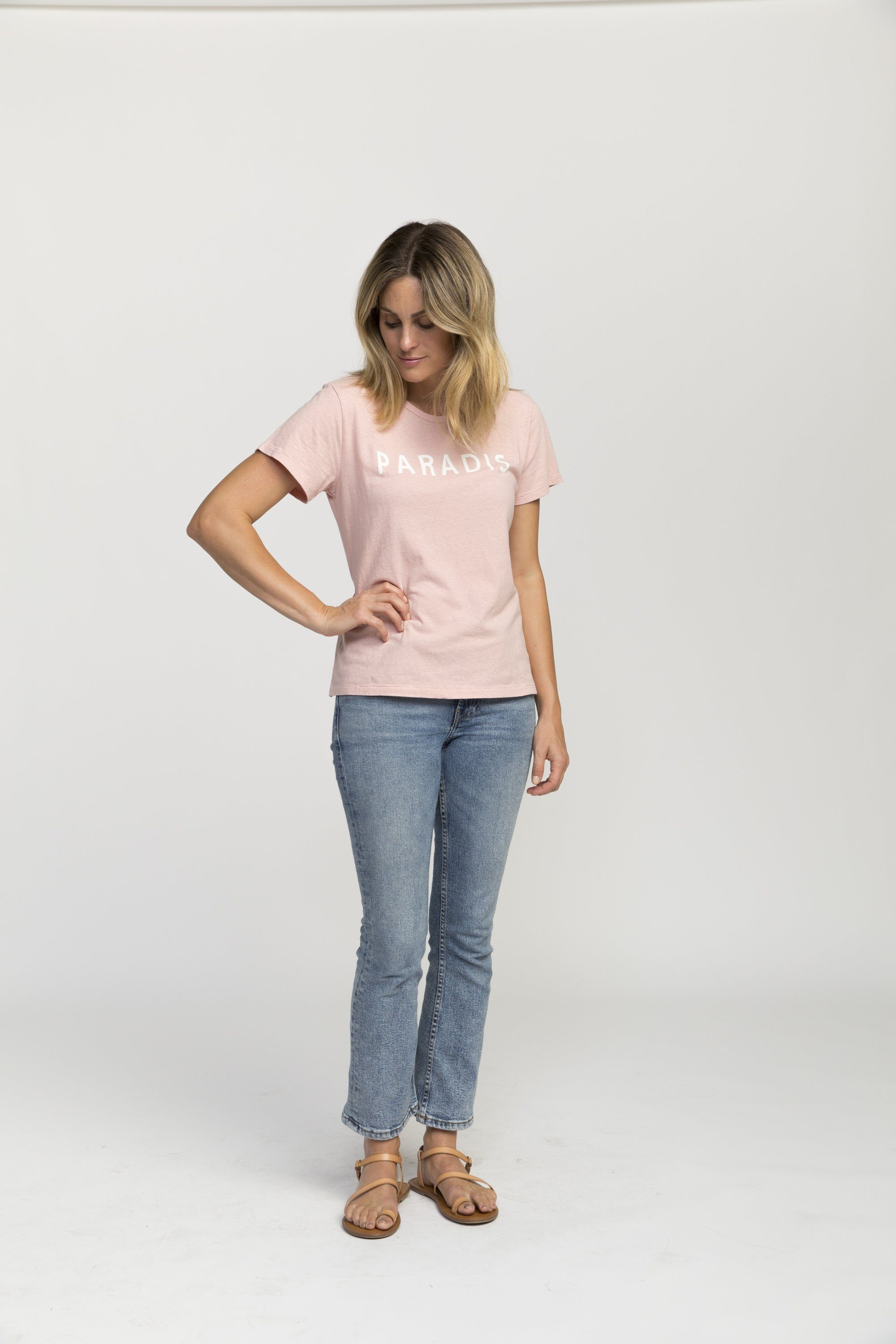 Jett T-shirt BLUSH PARADIS by Trovata - 4