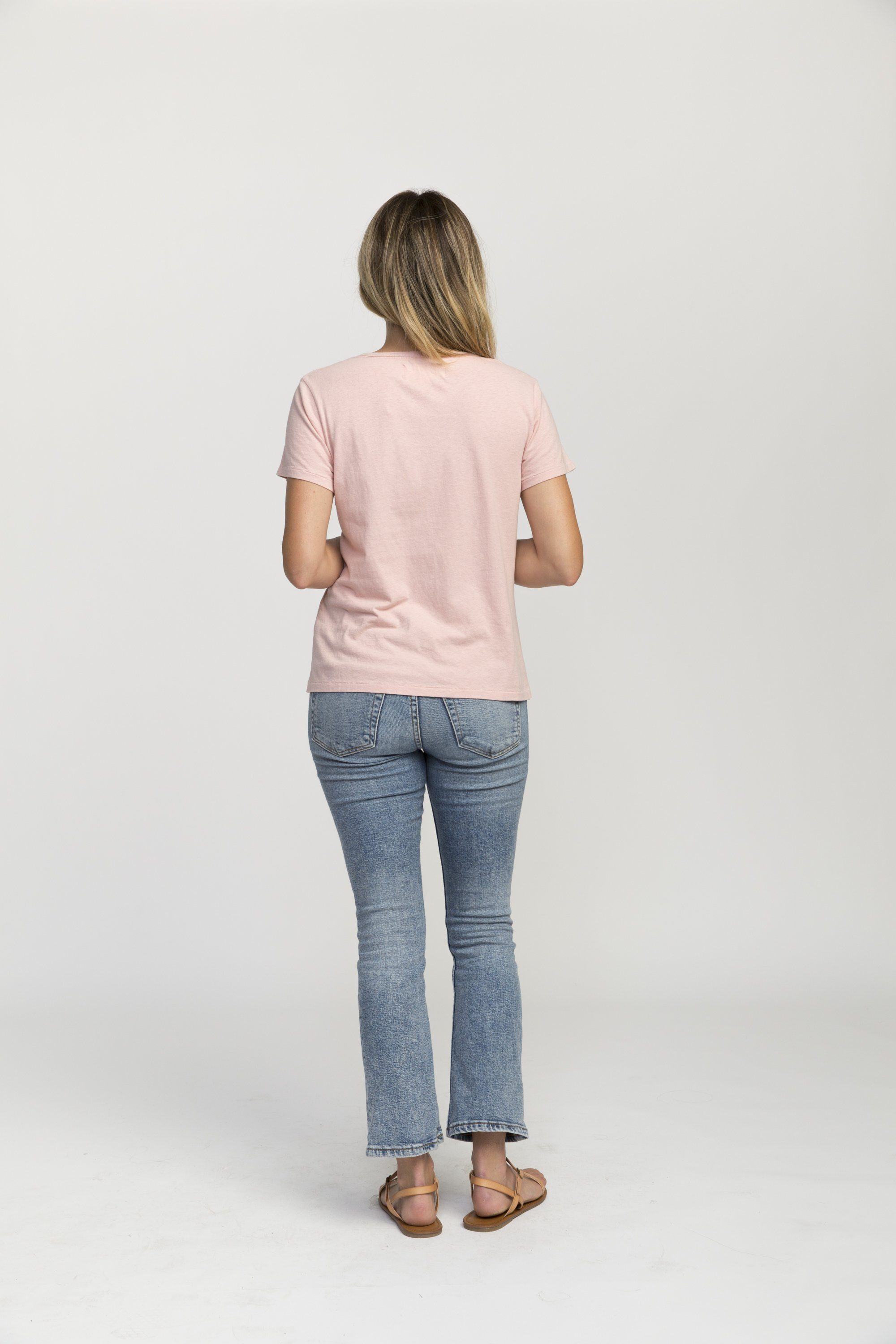 Jett T-shirt BLUSH PARADIS by Trovata - 3