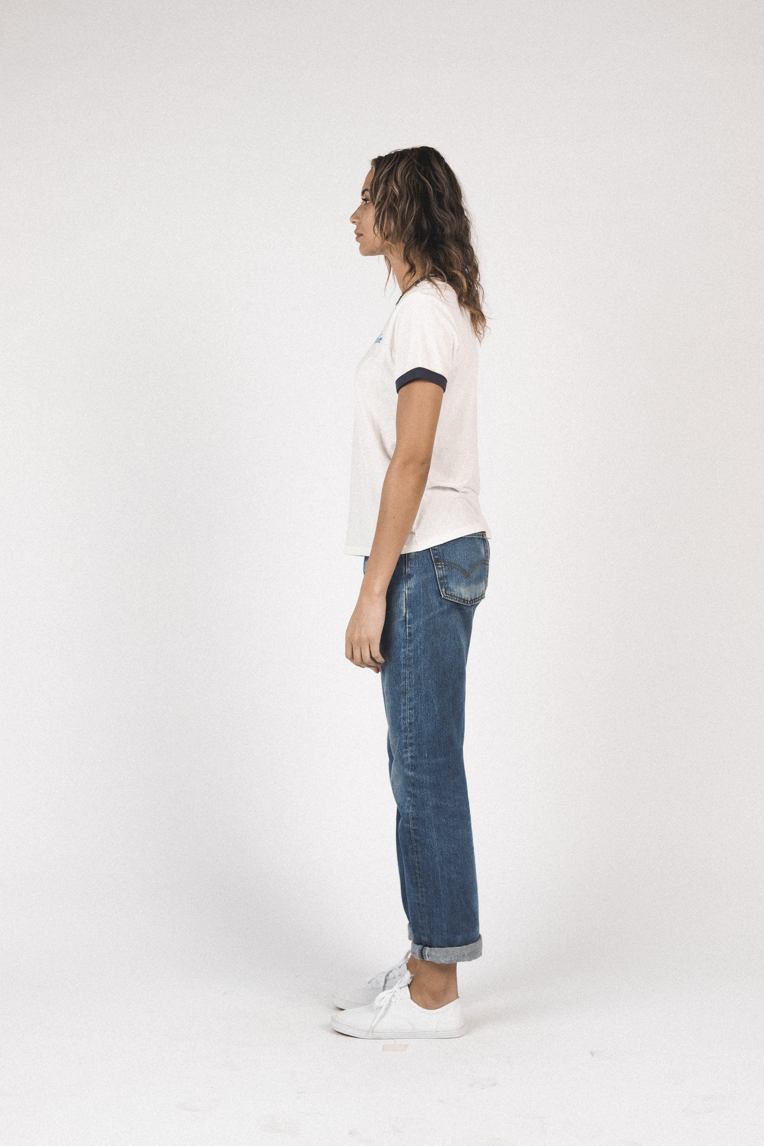 Lennox ringer T-shirt ANT WHITE MAHALO by Trovata - 4