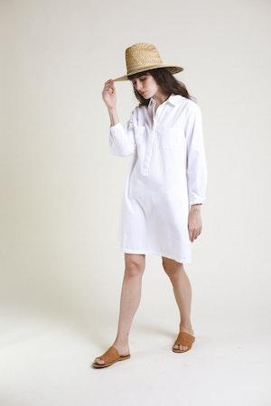 Meghan Henley Dress WHITE by Trovata - 3