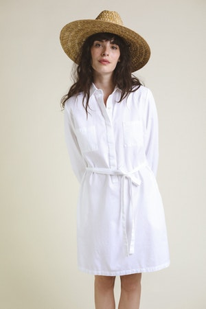 Meghan Henley Dress WHITE by Trovata - 1