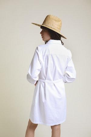 Meghan Henley Dress WHITE by Trovata - 2
