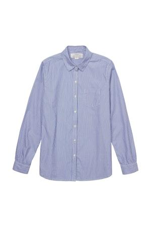 Grace classic shirt BLUE/WHITE STRIPE by Trovata - 5