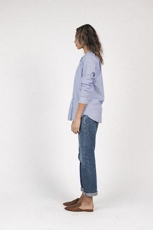 Grace classic shirt BLUE/WHITE STRIPE by Trovata - 3