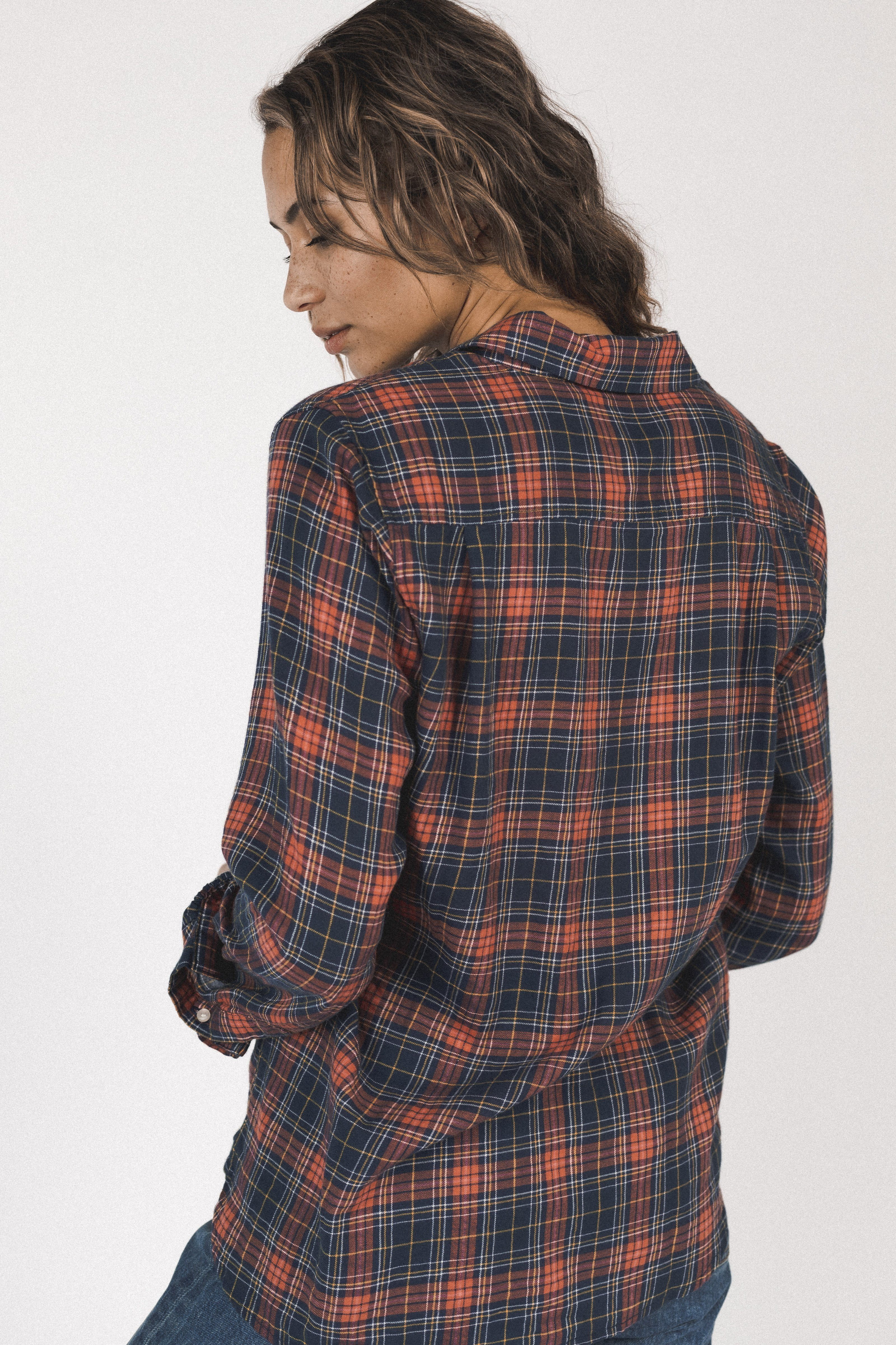 Grace Classic Shirt HIGHLAND PLAID by Trovata - 2